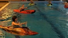 Rolletraining im Schwimmbad – es ist wieder soweit