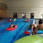 Kajak-Schnupperkurse im Schwimmbad – Wintertraining